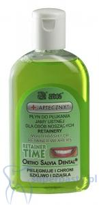 Ortho Salvia Dental Retainer Time 200 ml Płyn do płukania jamy ustnej