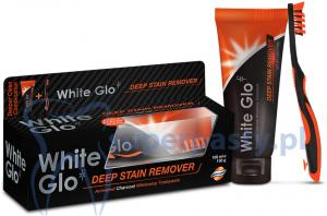 White Glo Deep Stain Charcoal 100 ml